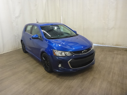 used 2018 Chevrolet Sonic car, priced at $16,221