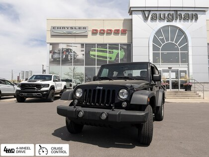 used 2018 Jeep Wrangler car, priced at $31,700