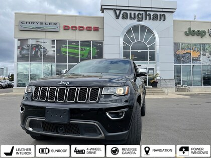 used 2018 Jeep Grand Cherokee car, priced at $37,980