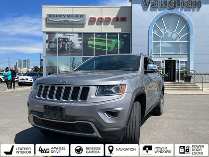 used 2015 Jeep Grand Cherokee car, priced at $26,889