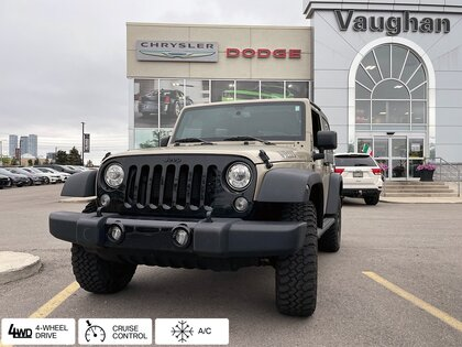 used 2018 Jeep Wrangler car, priced at $43,078