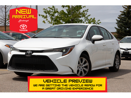 used 2020 Toyota Corolla car, priced at $18,995