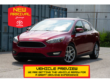 used 2015 Ford Focus car, priced at $9,995