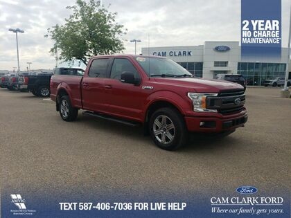 used 2018 Ford F-150 car, priced at $43,101