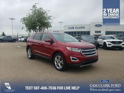 used 2017 Ford Edge car, priced at $26,743