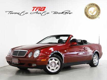 used 1999 Mercedes-Benz CLK-Class car, priced at $15,910