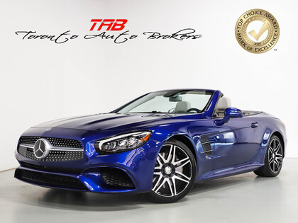 used 2017 Mercedes-Benz SL-Class car, priced at $74,910