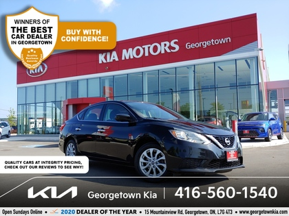 used 2016 Nissan Sentra car, priced at $9,950