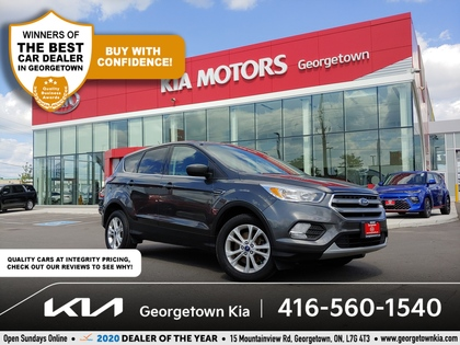 used 2017 Ford Escape car, priced at $17,950