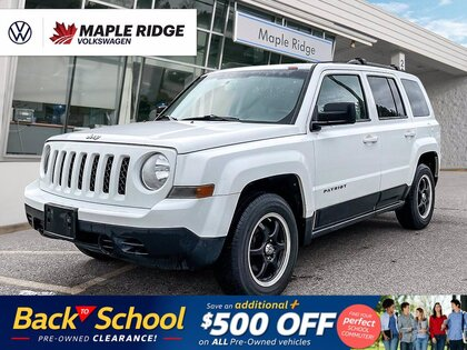 used 2012 Jeep Patriot car, priced at $11,988