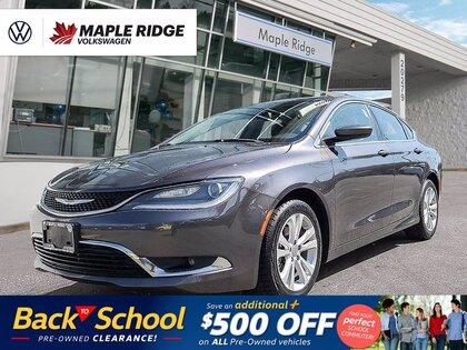 used 2016 Chrysler 200 car, priced at $16,988