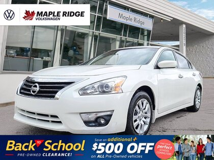 used 2015 Nissan Altima car, priced at $13,988