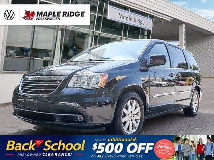 used 2015 Chrysler Town & Country car, priced at $15,988