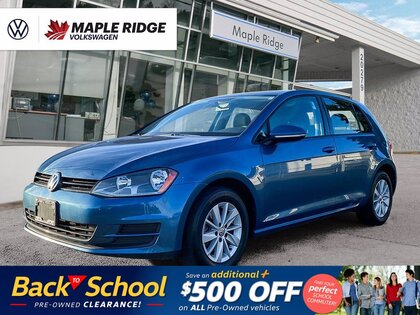 used 2017 Volkswagen Golf car, priced at $18,988