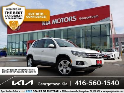 used 2012 Volkswagen Tiguan car, priced at $11,950