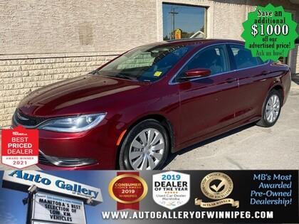 used 2016 Chrysler 200 car, priced at $15,996