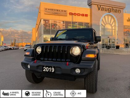 used 2019 Jeep Wrangler car, priced at $42,137
