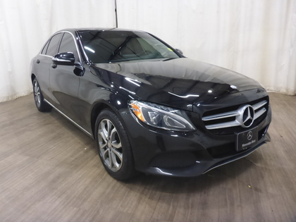 used 2015 Mercedes-Benz C-Class car, priced at $23,082