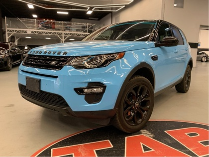 used 2017 Land Rover Discovery Sport car, priced at $29,910