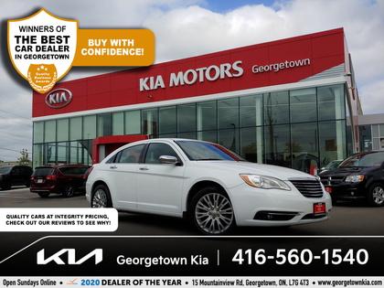 used 2013 Chrysler 200 car, priced at $10,950