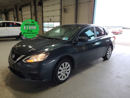 used 2016 Nissan Sentra car, priced at $13,998