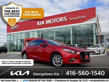 used 2018 Mazda Mazda3 Sport car, priced at $17,950