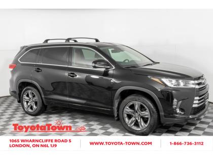 used 2019 Toyota Highlander car, priced at $44,998