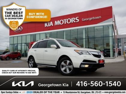 used 2010 Acura MDX car, priced at $10,950