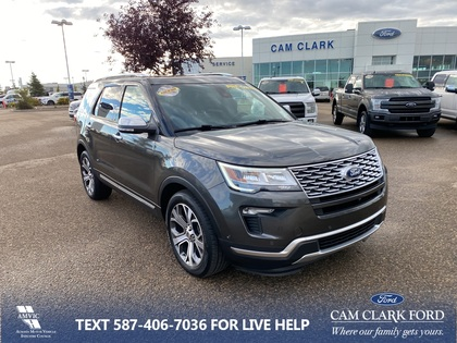 used 2019 Ford Explorer car, priced at $48,943