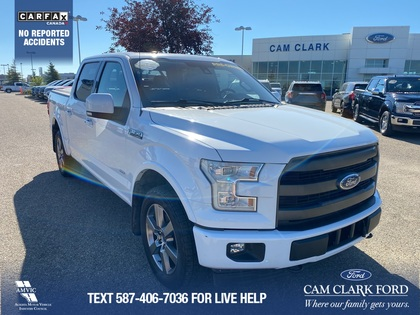 used 2017 Ford F-150 car, priced at $47,487