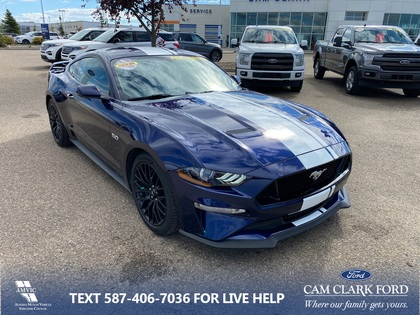 used 2018 Ford Mustang car, priced at $45,729