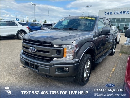 used 2018 Ford F-150 car, priced at $45,564