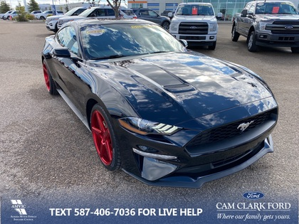 used 2019 Ford Mustang car, priced at $31,284