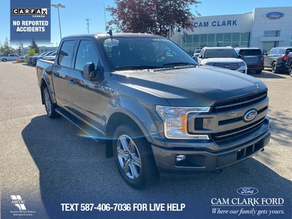 used 2018 Ford F-150 car, priced at $41,431