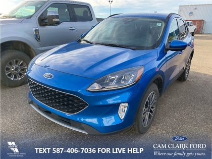 used 2020 Ford Escape car, priced at $32,877