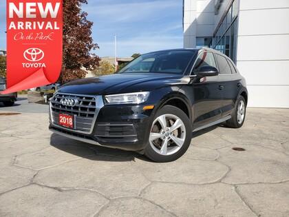 used 2018 Audi Q5 car, priced at $37,995