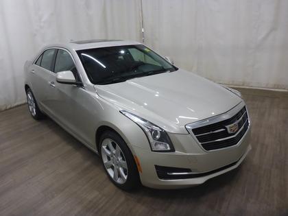 used 2015 Cadillac ATS car, priced at $23,652