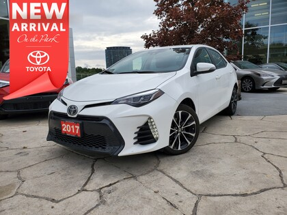 used 2017 Toyota Corolla car, priced at $17,995