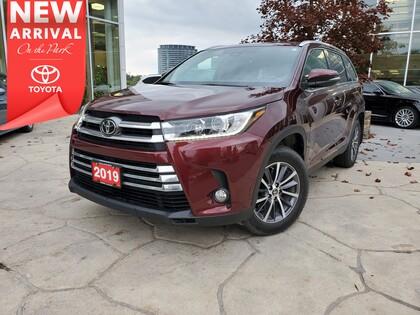 used 2019 Toyota Highlander car, priced at $40,495