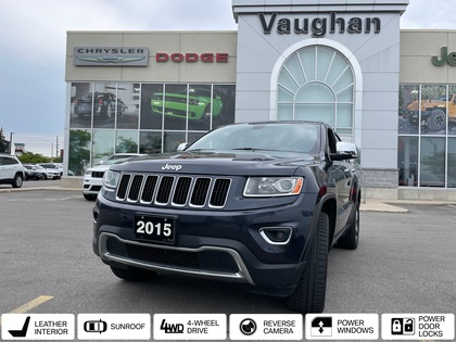 used 2014 Jeep Grand Cherokee car, priced at $26,105