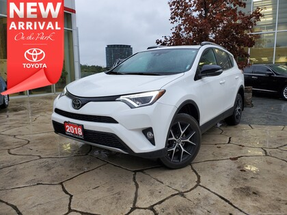 used 2018 Toyota RAV4 car, priced at $31,995