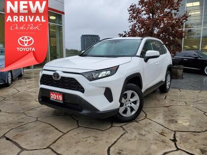 used 2019 Toyota RAV4 car, priced at $27,995